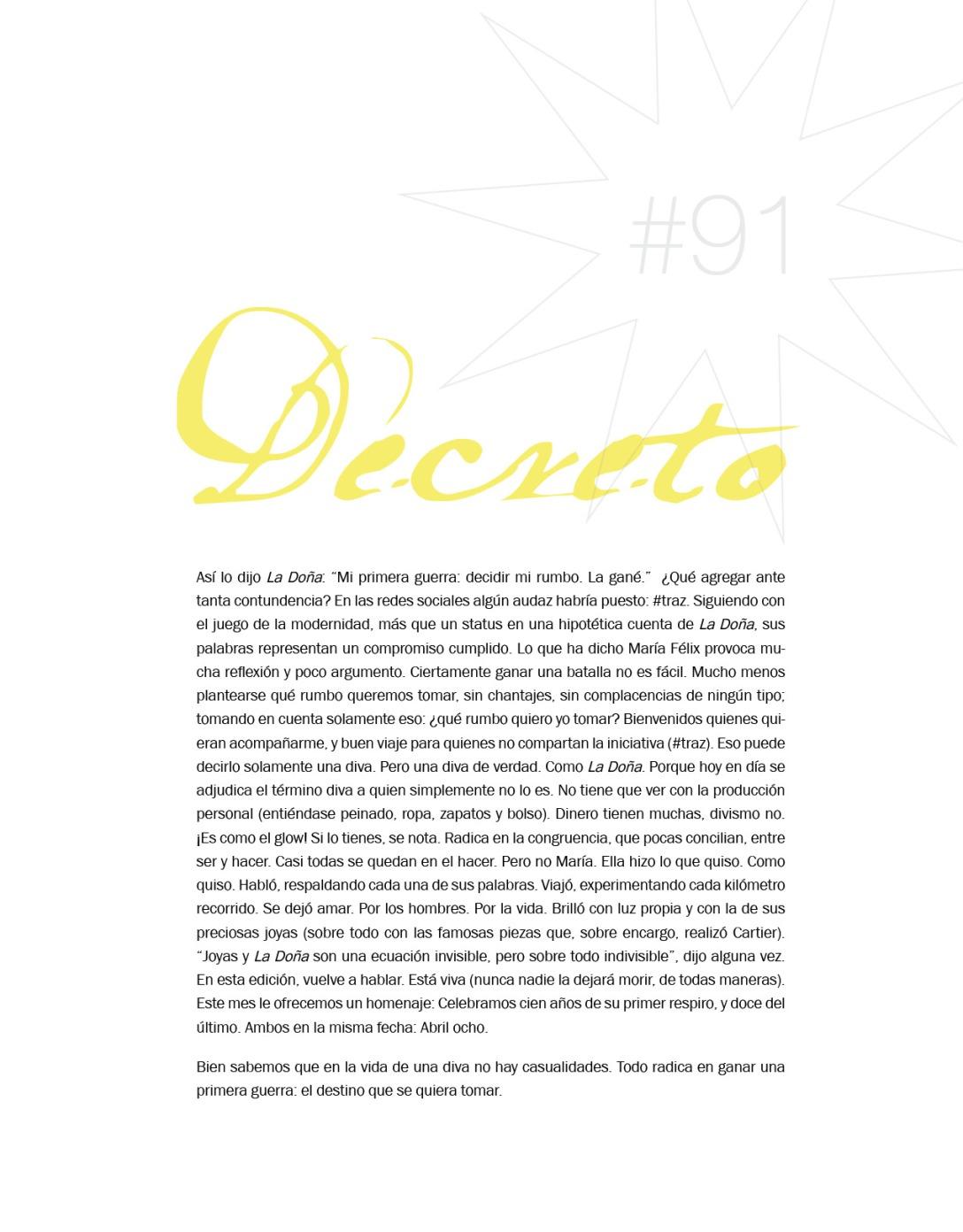 Decreto Glow! Abril 2014