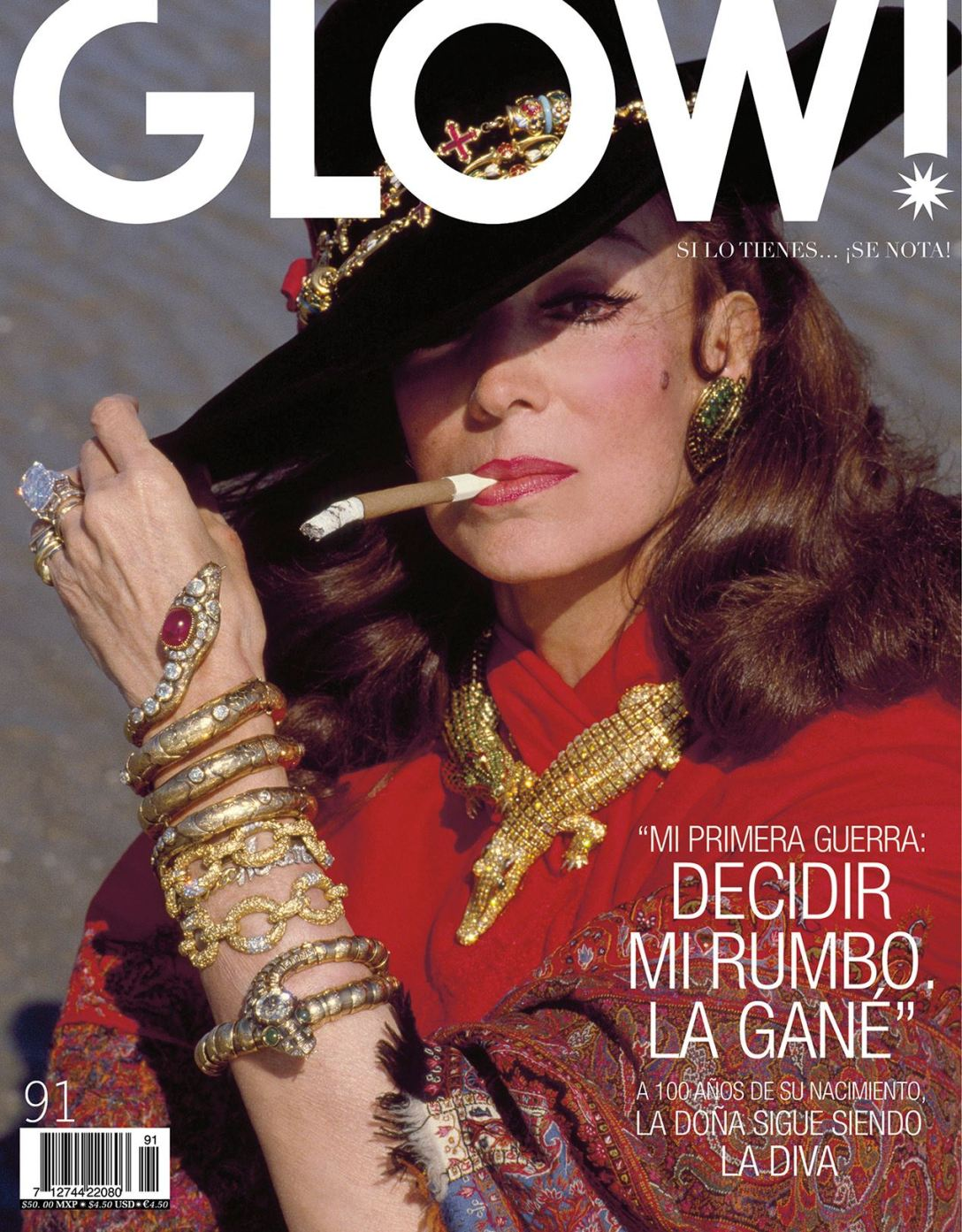 GLOW! Cover. Abril 2014.